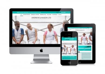 Northland Painters website designers