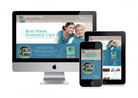rest home village website design